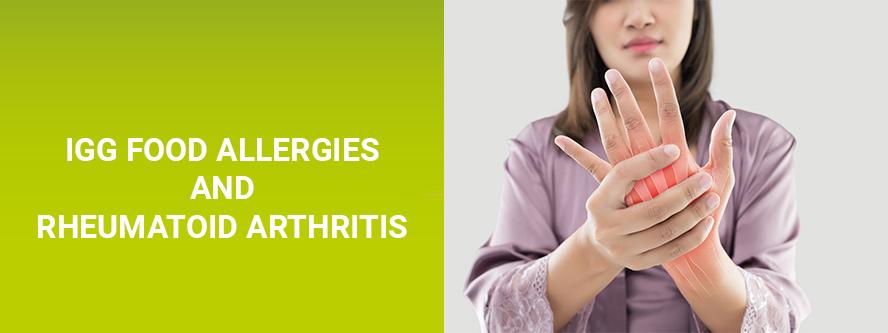 Rheumatic diseases and food hypersensitivities